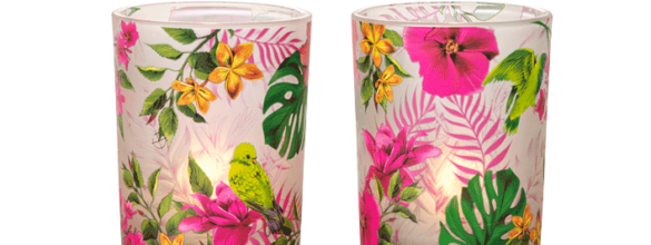 Partylite Duo porte bougies Nuits Tropicales