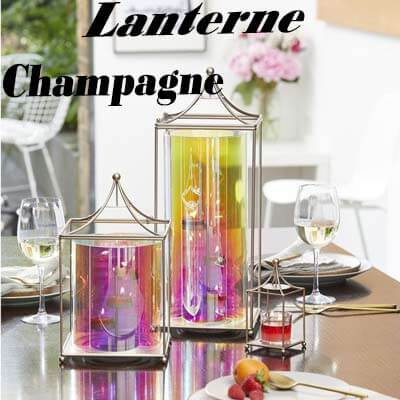 Partylite Lampe Champagne