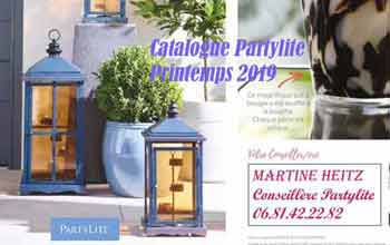 Catalogue Partylite Printemps 2019
