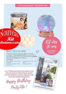 Kit printemps Partylite