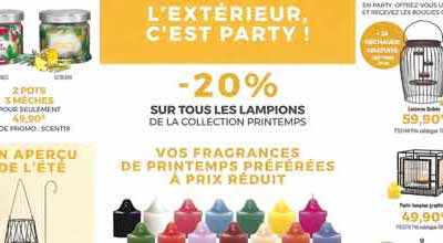 Offre avril lampions partylite