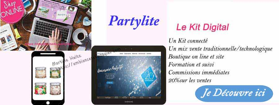 Join Partylite avec le Digital Kit
