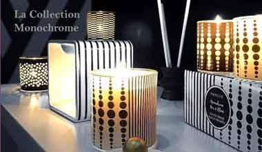 Partylite Collection Noir et Blanc