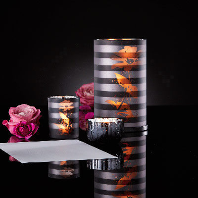 Supports bougies After Dark Partylite