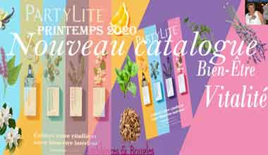 Catalogue Partylite Printemps 2020