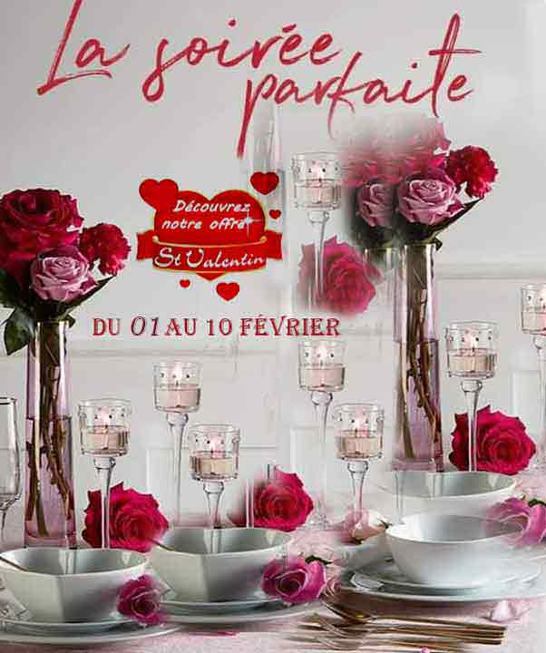 St Valentin offre 2020 Partylite
