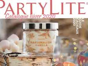 Catalogue Partylite 2020